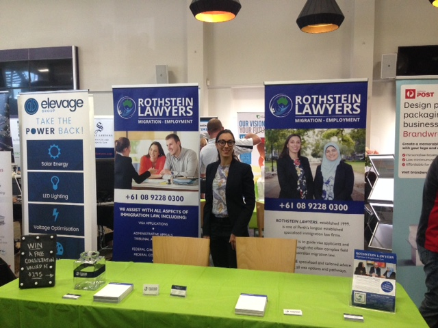 Rothstein Lawyers at the Perth Small Business Expo