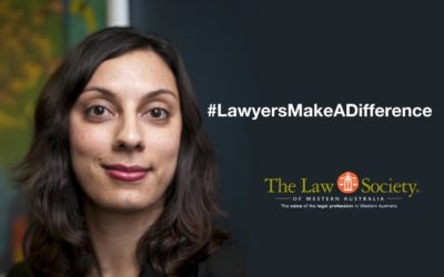 Law Society of Western Australia's Lawyers Make A Difference campaign